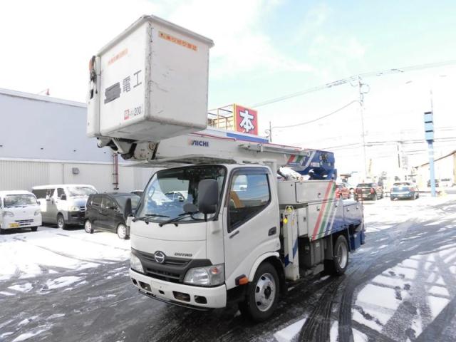 日野 デュトロ TKG-XZU600F 2WD