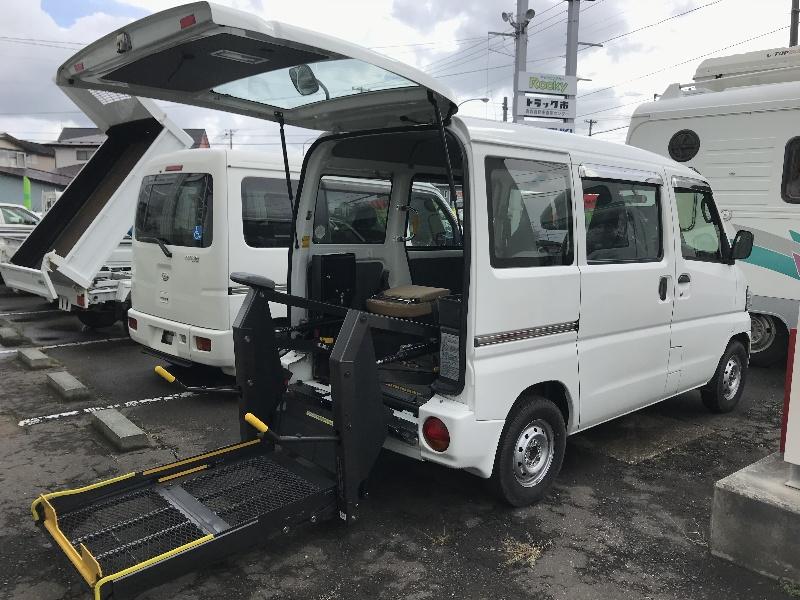 三菱 ミニキャブバン GBD-U62V改 4WD
