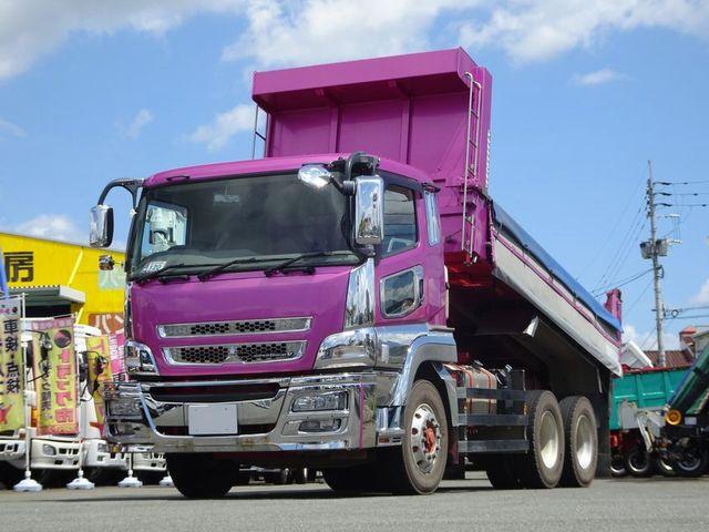 三菱 スーパーグレート QKG-FV60VX 6x4