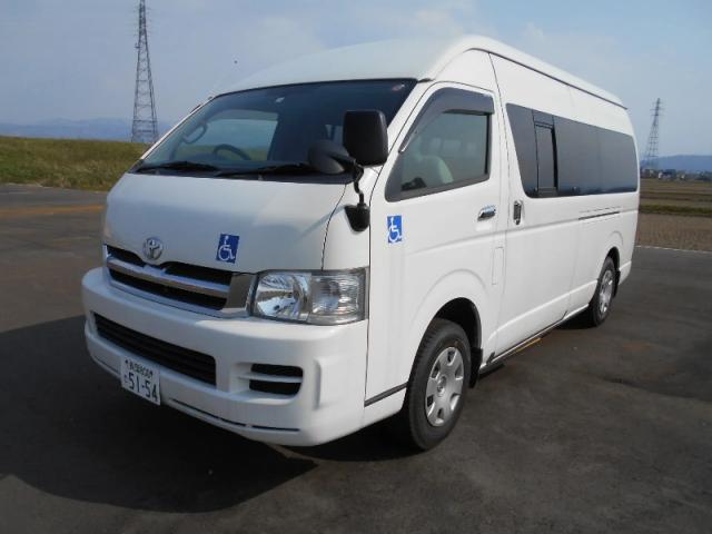 トヨタ ハイエースレジアス CBF-TRH228B改 4WD